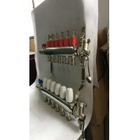 Quality 304 Stainless Steel Floor Heating Manifold In Center Heating for sale