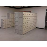 Quality Keyless 5 Tier Beige Plastic School Lockers Corrosion Proof / Highly Water Resistant for sale