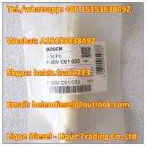 Quality 100% original BOSCH Injector Valve F00VC01033 , F 00V C01 033 Fit 0445110091,0445110186,0445110279,0445110283,0445110306 for sale