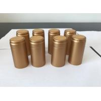 Quality Waterproof PVC Heat Shrink Capsules PVC Wine Caps Multi Color Printing for sale