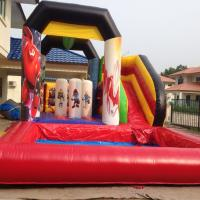 Buy 2016 Hot sell Inflatable water slide  in 7L*5Wm by PVC Tarpaulin with warranty 24months at wholesale prices