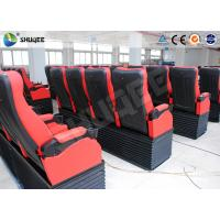 Buy Electric Motion 4DM Cinema System Movie Theater System With Black Red Seats at wholesale prices