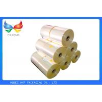Quality Custom 40mic Heat Shrink Plastic Film Super Clear Soft Moisture Proof For Labels for sale