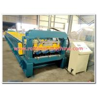 China Automatic Galvanised Steel Floor Decking Tile Cold Rollforming Making Machine for Concrete Deck on sale