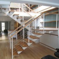 Quality high quality indoor stair 6mm cable railing stainless steel post price for sale