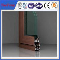 Quality NEW ! standard size aluminium door and windows/ high quality modern aluminium window frame for sale