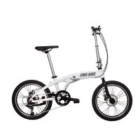 Quality 20 Inch Aluminum Alloy Variable Speed Portable Folding Bike for sale