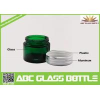 Buy Vintage Green Screw Plastic Lids For Skin Cream Glass Jars,15ml Green Glass Skin Cream Bottle at wholesale prices