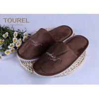 Quality 100% Cotton Disposable Luxury Hotel Slippers Star Hotel Guest Slippers for sale