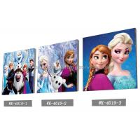 Quality Custom Frozen Design 3D frameless Plastic Printing Service PET Pictures for sale