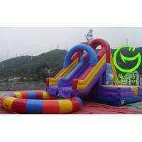 Quality 2016 Hot sell Inflatable water slide with pool with 24months warranty from GREAT TOYS for sale