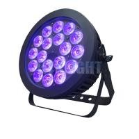 China 18x18w RGB Dmx Par Can Lights Color Mixing Waterproof Stage Wash Lighting on sale
