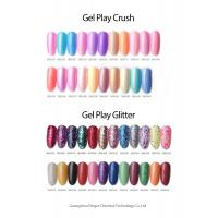 Buy cheap Gel play glitter UV Gel Nail Polish MSDS GMPC 7.5ml / 5ml Bottle from wholesalers