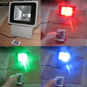 China Outdoor RGB LED Flood Light High Power For Warehouse 30 Watt AC85V - 265V on sale