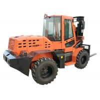 Quality 3500kg Rated Load All Terrain Forklift Wheel Loader W35 With Xinchai Engine for sale