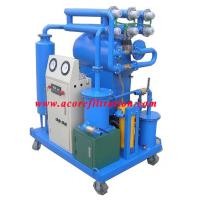 Buy cheap Single Stage Vacuum Dielectric Insulating Oil Purifier Machine from wholesalers