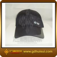 Quality cotton and mesh black caps & hats for sale