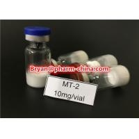 Quality Health Muscle Buidling Steroids Hot Sale Legit Peptide Melanotan-2, Mt-2, Melanotan II CAS: 121062-08-6 2mg/vial for Mus for sale