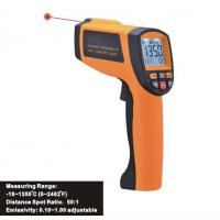 Infrared temperature instrument, safe non-contact Laser Infrared Thermometer IR1350 for sale