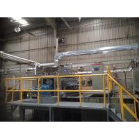 Quality 200kgs / Hour Rotary Molded Pulp Packaging Machinery For Making Shoes Inserts for sale