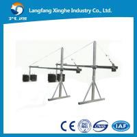 Quality zlp630 aluminum suspended scaffolding / zlp800 electric suspended platform / gondola hoist for sale