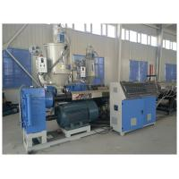 China PE Plastic Pipe Extrusion Line , PE Water Pipe Extruder Machine CE ISO Certificate on sale