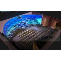 Quality 5.1 / 7.1 Audio 4D Movie Theater With Pneumatic / Hydraulic / Electronic Control for sale
