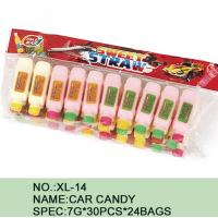 Quality Different Color Healthy Candy Sugar Powder Novelty Car Shape Eco - Friendly for sale