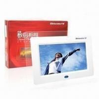 Quality 7-inch Digital Photo Frames with 480 x 234 pixels Resolution for sale