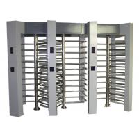 Quality Semi Automatic Controlled Access Turnstiles , Heavy Duty Security Turnstile Gate for sale