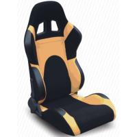 Quality Modern Adjustable Custom Racing Seats With Rails And Logo , Easy To Install for sale