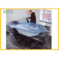 Size Customized Temporary Protective Film Clear Self Adhesive Film Anti Dust For Funiture for sale