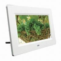 Quality 7-inch Digital Photo Frame with Built-in Stereo Speaker and AV Output for sale