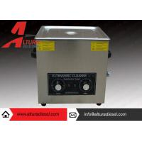 Buy Silver Mechanical Ultrasonic Cleaners Ultrasonic Cleaning Tanks at wholesale prices