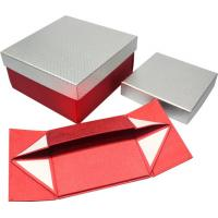 Quality High grade foldable Paper Gift Boxes , magnets closure paper gift wine box for sale