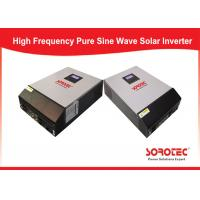 Quality SSP3118C Cold Start Solar Power Inverters / Solar Energy Converter Built - In 60A Mppt / Pwm for sale