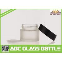 Buy Wholesale 5/15/20/30ml Custom Cosmetic Cream Jar,Empty Glass Bottle With Screw at wholesale prices