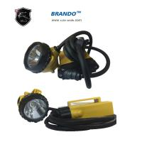 Quality KL12LM Yellow ABS Body 3w Main Power Environmental Corded Mining Headlamp Super Bright for sale