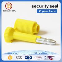 China barcoded bolt lock seal trailer door seal BC-B203   Container Truck Train Tanker for sale