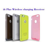 Quality New TPU Back Case For iPhone 6/6 Plus Qi Wireless Charger Receiver Built in CE FCC RoHS for sale