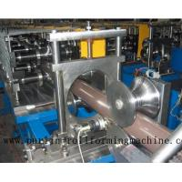 Quality Copper Portable Downspout Roll Forming Machine , Steel Roof Gutter Making Machine for sale