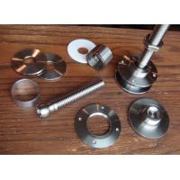 Quality Small Automotive Stamping Parts , Notching Louvering Precision Metal Components for sale
