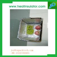 China Reflective Insulation Foil Bubble Bag Box Liners To Keep Food Cooler on sale
