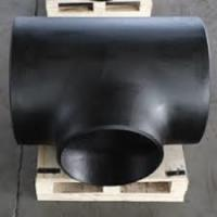 China Butt Weld Equal TEE ASTM 860 WPHY60  High Yield Carbon Steel Fitting on sale