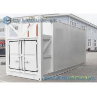 China Mobile Diesel / Gasoline 27000L 20 Feet Container Oil Tank Trailer on sale