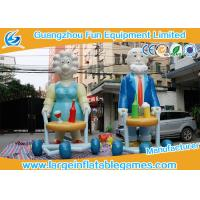Quality Commercial Inflatable Cartoon Characters Display With Logo Printing /  inflatable sarah for sale