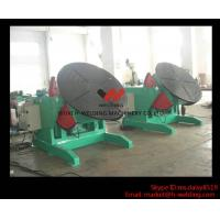 Quality 5 Ton High Speed Auto Rotary Pipe Welding Turning Table Heavy Duty For Tank / Pipe / Vessel for sale