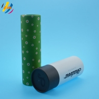 China 160mm Length Carton Tube Packaging For Toothpaste on sale