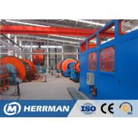 China Pressure Bearing Layer Flat Steel Tape Armouring Winding Machine Of Submarine Fexible Pipe Production Line on sale