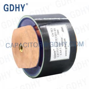 Quality GDHY 750VAC 3.3UF 500 KVAR Water Cooled Capacitor for sale